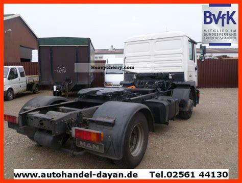 man   gaenge air suspension  standard tractortrailer unit photo  specs