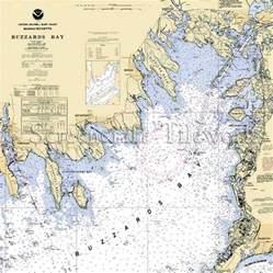 Custom Table Runners by Massachusetts Buzzards Bay Nautical Chart Decor
