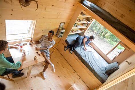 getaway tiny house woods inhabitat green design