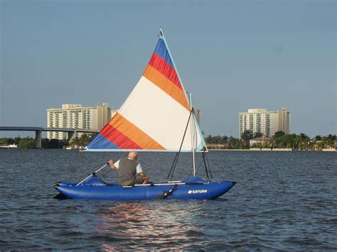 catamaran auction inflatable sail catamaran frameless cataraft pontoon