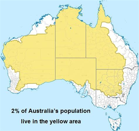 australia population map nearly 90 per cent of australia s population concentrated