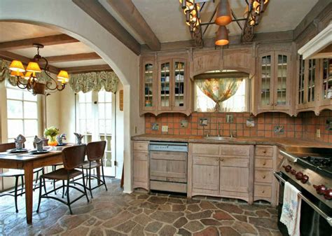 cottage kitchen  breakfast room hooked  houses