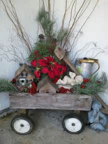 Outdoor Decor Ideas by 40 Comfy Rustic Outdoor Christmas D 233 Cor Ideas Digsdigs