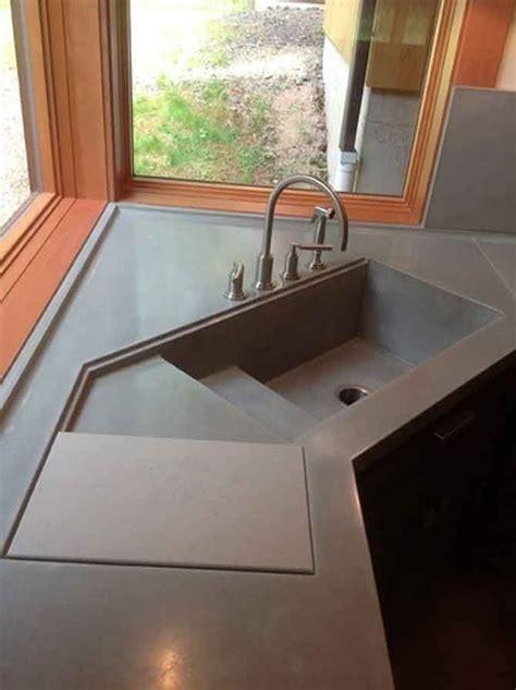 lavello cemento 17 migliori idee su lavello in cemento su