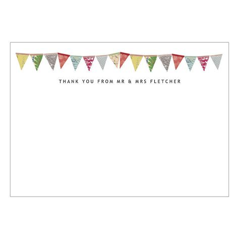 Gift Card Thank You - personalised wedding thank you cards by made by ellis notonthehighstreet com
