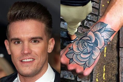 gary tattoo gaz beadle gets but it looks