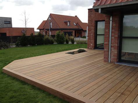 terrasse de jardin en bois terrasse en ip 233 bois exotique classe 5 le bois exotique le plus r 233 sistantcerisier abris de