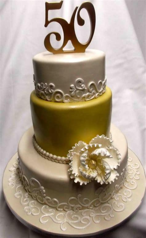 gold anniversary themes 50th wedding anniversary cake ideas anniversary cake