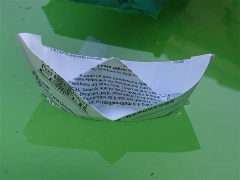 how to make a paper boat that doesn t sink treasure for toddlers preschoolers how to be a pirate