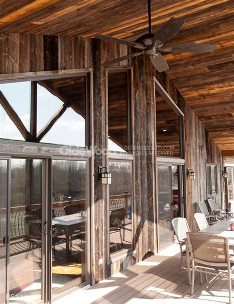 reclaimed wood wall treatments    barn siding