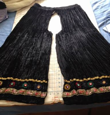 plazo cutting step by step my handmade hell skirt to palazzo pant