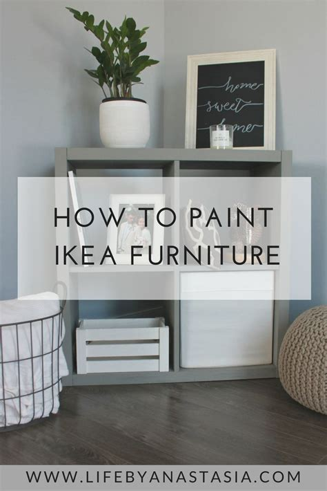 how to paint ikea furniture 25 b 228 sta id 233 erna om lack hack p 229 pinterest