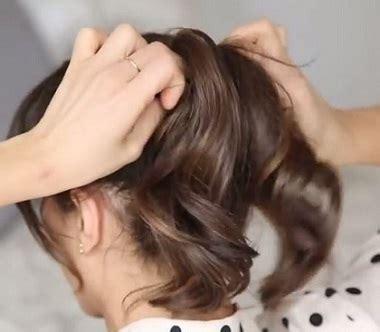 tutorial rambut untuk kerja tutorial rambut wanita gaya sederhana mudah dan menarik