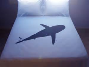shark duvet cover sheet set bedding king size