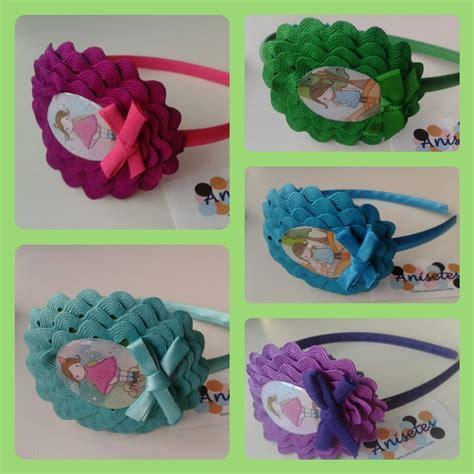 Bando Flower Leaf Blue 551 best lindas diademas images on hair bows