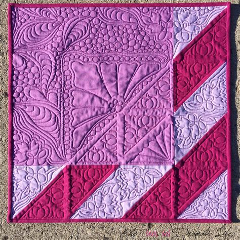 Violet Quilt by Shades Of Violet Mini Quilt 31 The Not So Dramatic