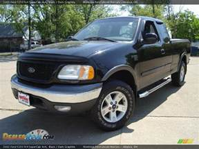 2002 Ford F150 4x4 2002 Ford F150 Fx4 Supercab 4x4 Black Graphite