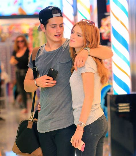 what is your celebrity boyfriend bella thorne and boyfriend gregg sulkin out and about in