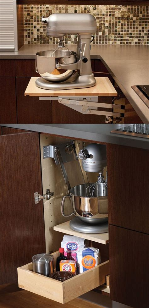 Countertop Appliance Storage by 18 Kitchen Countertop Strorage Solutions Superb Cook