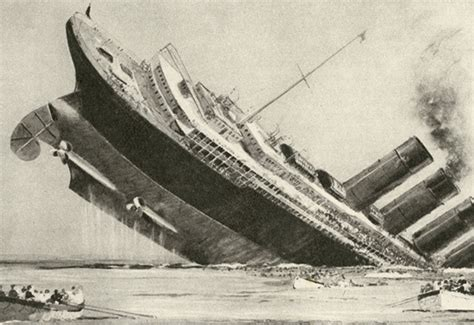 sinking of the lusitania what sunk the lusitania if you think it was a torpedo