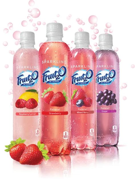 fruit2o sparkling fruit2o goes national with dr pepper snapple as
