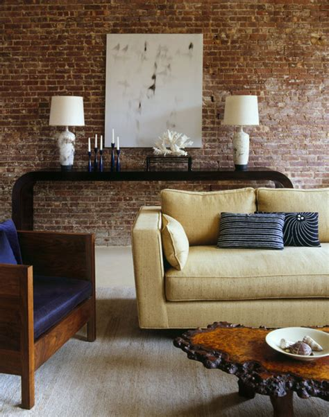 Decorating Ideas Exposed Brick Exposed Brick And Plaster Walls For The Interior Design Of