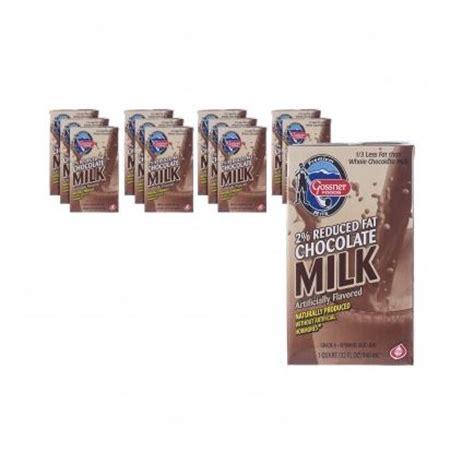 shelf stable reduced 2 chocolate milk 32 oz