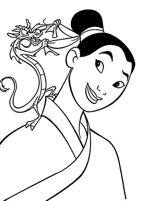 printable coloring pages mulan mulan coloring pages for kids printable free coloring