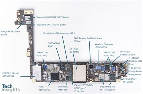 techinsights 拆解 iphone 8 plus 解剖 apple a11 bionic 處理器內部構造 new mobilelife 流動日報