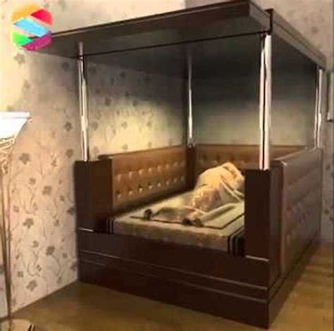 earthquake bed innovative earthquake bed offers safety while you sleep
