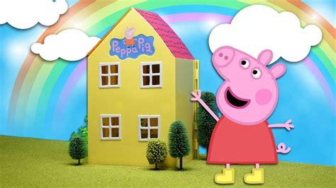 casas de peppa pig la casa de juguete de peppa pig hd unboxing casa peppa
