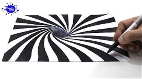 ilusiones opticas faciles de dibujar c 243 mo dibujar una ilusi 243 n 243 ptica 3d how to draw optical