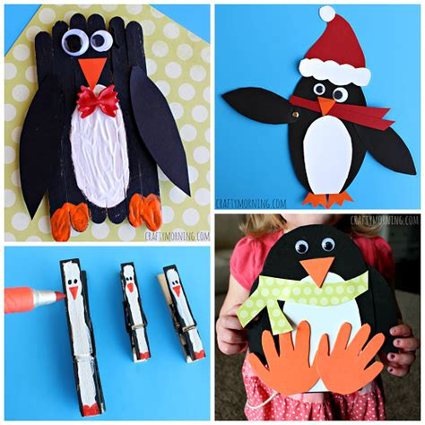 penguin arts and crafts projects creative penguin crafts for to make crafty morning