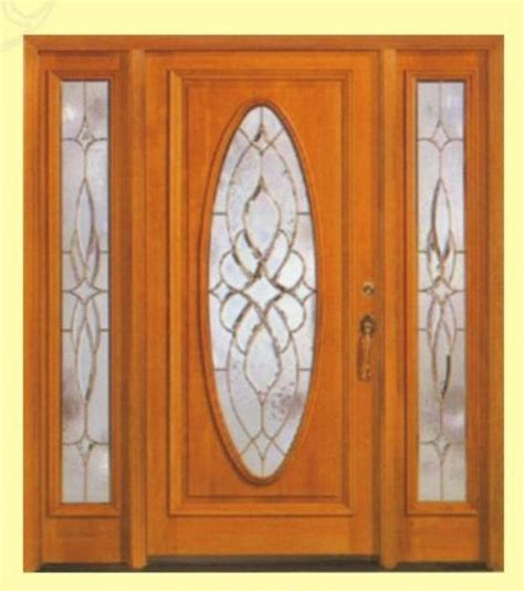 Interior Wood And Glass Doors China Entrance Interior Wood Door With Glass Sl 003 China Wood Door Mdf Door