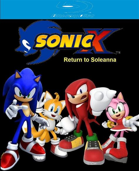 Dvd Bluray Sx wiki news sonic x return to soleanna early dvd review