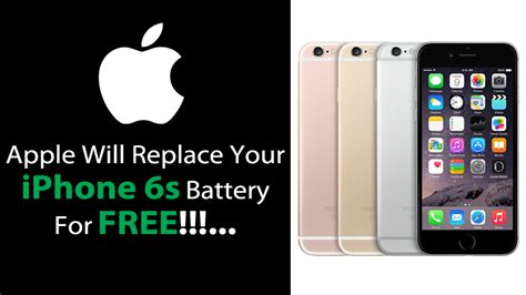 apple to replace faulty batteries for free in iphone 6s devices