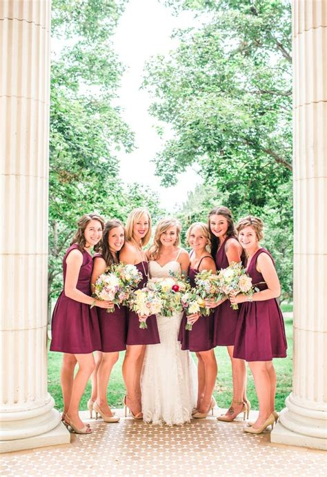 wedding dresses maroon colour 1000 ideas about maroon bridesmaid dresses on