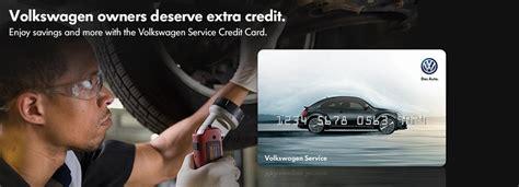 volkswagen service credit cards vw  kingston