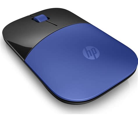Mouse Blue buy hp z3700 wireless optical mouse blue black free