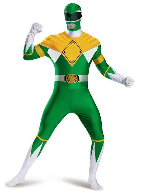 adult green power ranger bodysuit costume adult