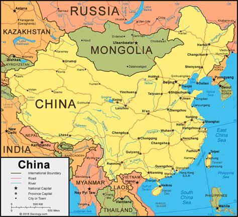 china world map china map and satellite image