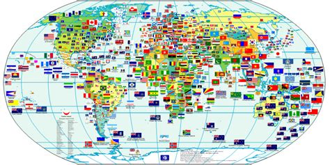 world map with country names and flags world flags world maps map pictures