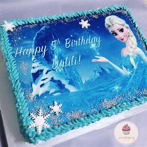birthday cake frozen edible image inspiration of cake frozen sheet cake with edible image birthday cake ideas