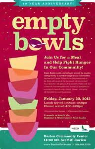 Kitchen Message Center Ideas reminder this friday jan 30 the empty bowls fundraiser