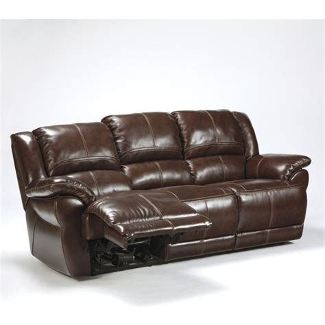 ashley furniture power recliners ashley furniture lenoris leather power reclining sofa in