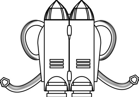 jetpack coloring page pack 20clipart clipart panda free clipart images
