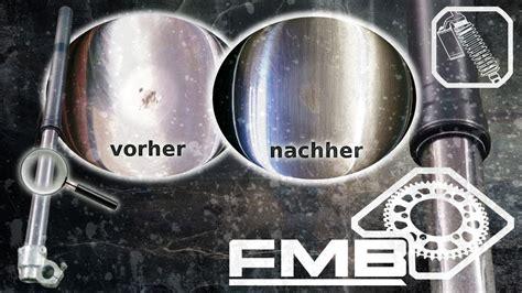 Motorrad Gabel Neu Abdichten by Tauchrohr Steinschlag Reparatur 214 Hlins Wp Showa Marzocchi