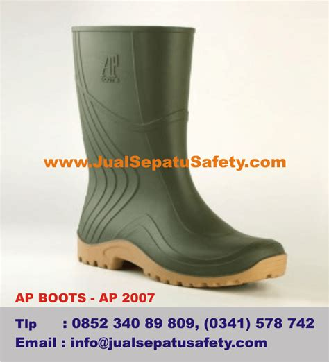 Sepatu Boot Ap Safety sepatu ap boots untuk petani coklat cacao sawit bibit