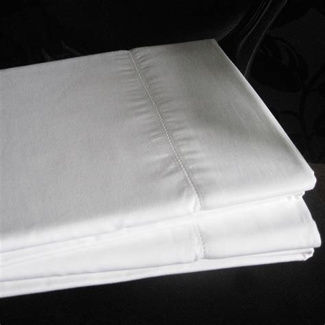bed sheets thread count boutique 400 thread count white fitted or flat bed sheets