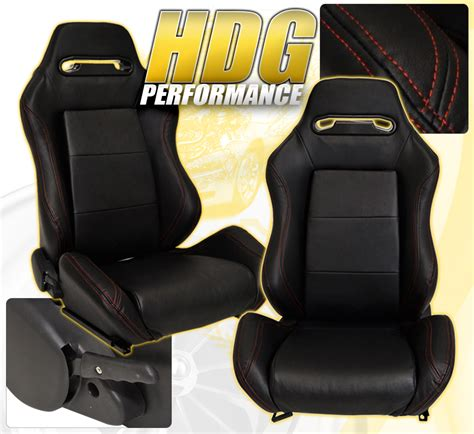 reclinable bucket seats for bmw reclinable bucket seats chairs pvc leather racing